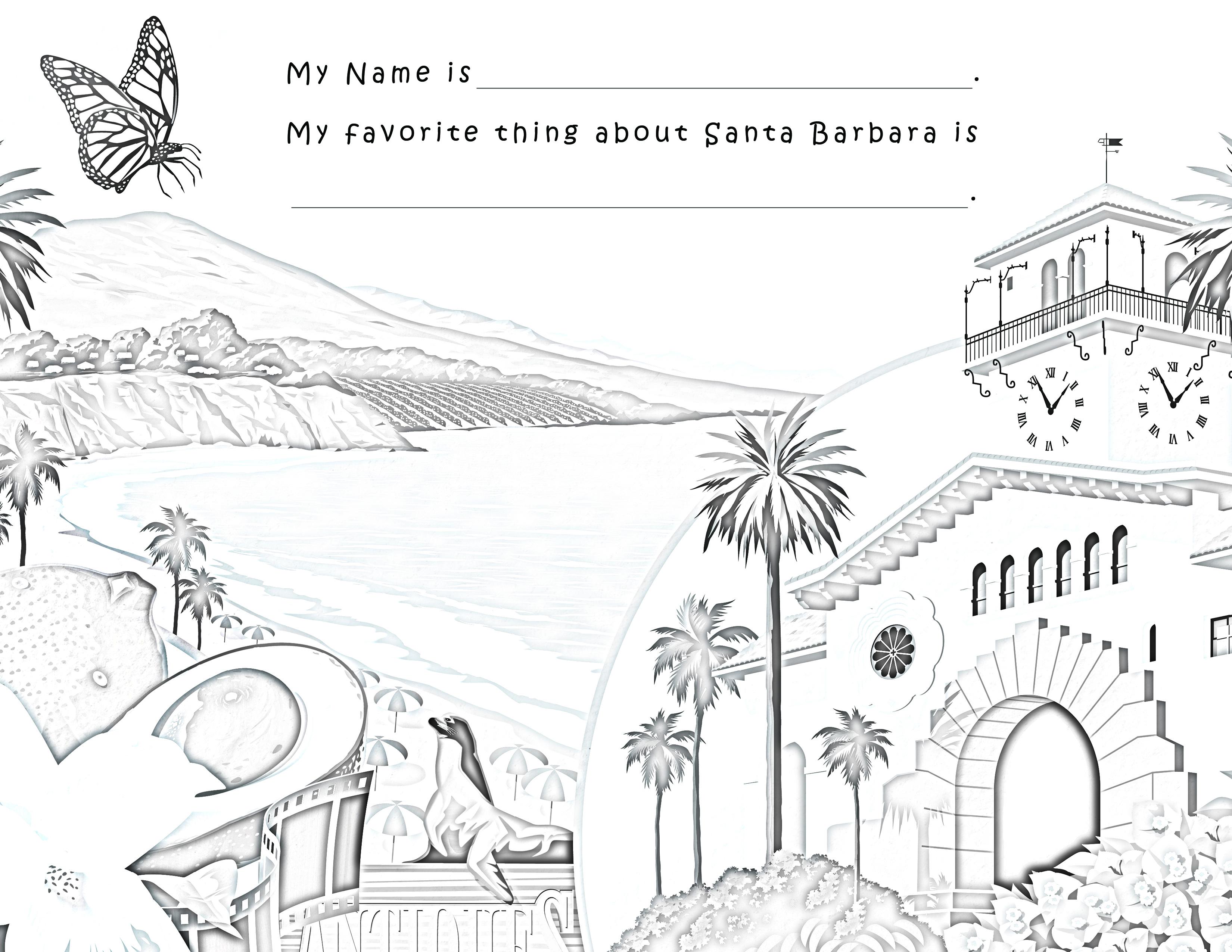 Coast coloring #19, Download drawings