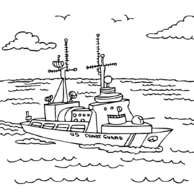 Coast coloring #3, Download drawings