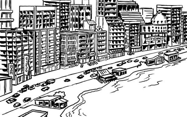Coast coloring #16, Download drawings