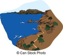 Coastline clipart #19, Download drawings