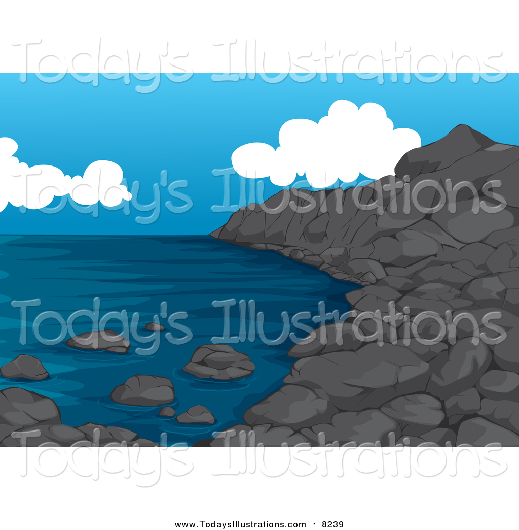 Coastline clipart #5, Download drawings