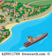 Coastline clipart #12, Download drawings