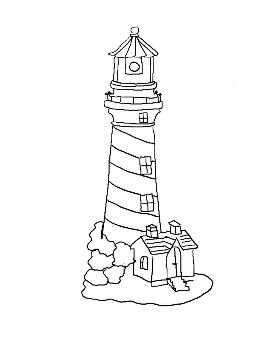 Coastline coloring #3, Download drawings