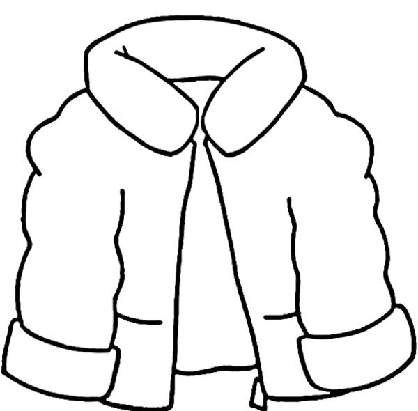 Coat coloring #15, Download drawings
