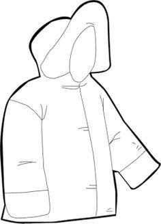 Coat coloring #11, Download drawings