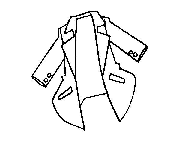 Coat coloring #7, Download drawings