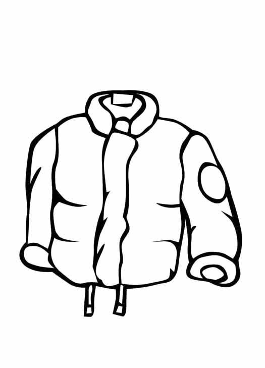 Coat coloring #16, Download drawings