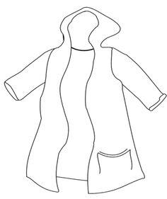 Coat coloring #13, Download drawings