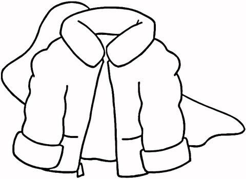 Coat coloring #19, Download drawings