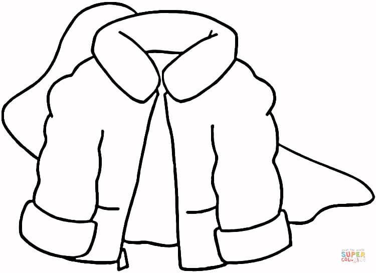 Coat coloring #18, Download drawings