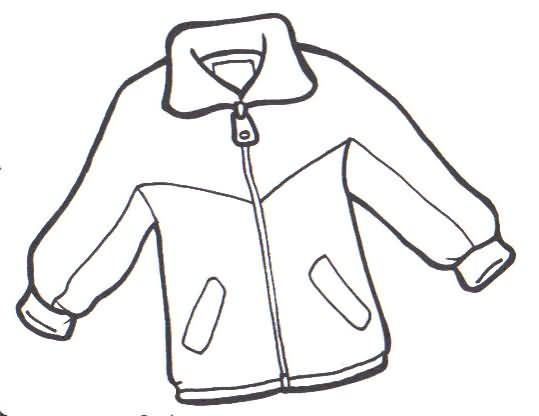 Coat coloring #5, Download drawings