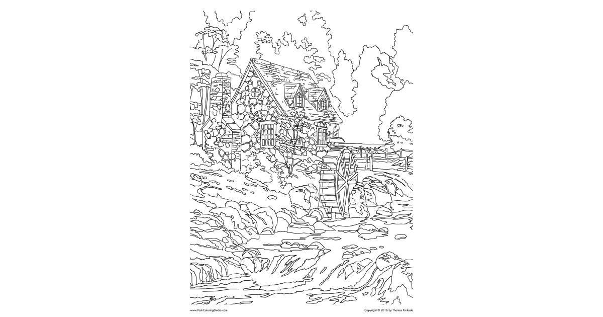 Cobblestone coloring #5, Download drawings