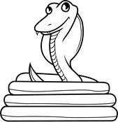 Cobra coloring #13, Download drawings