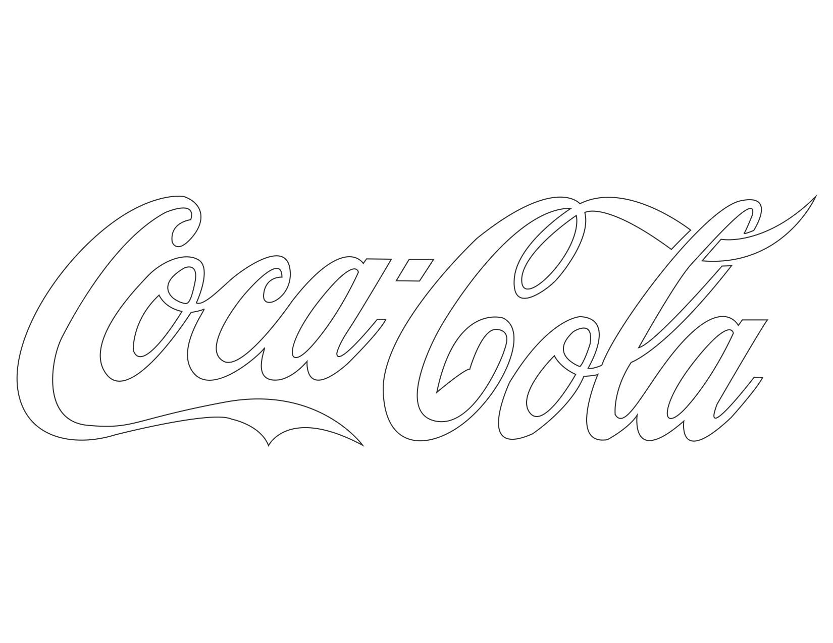 Coca Cola coloring #6, Download drawings