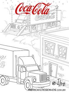 Coca Cola coloring #10, Download drawings