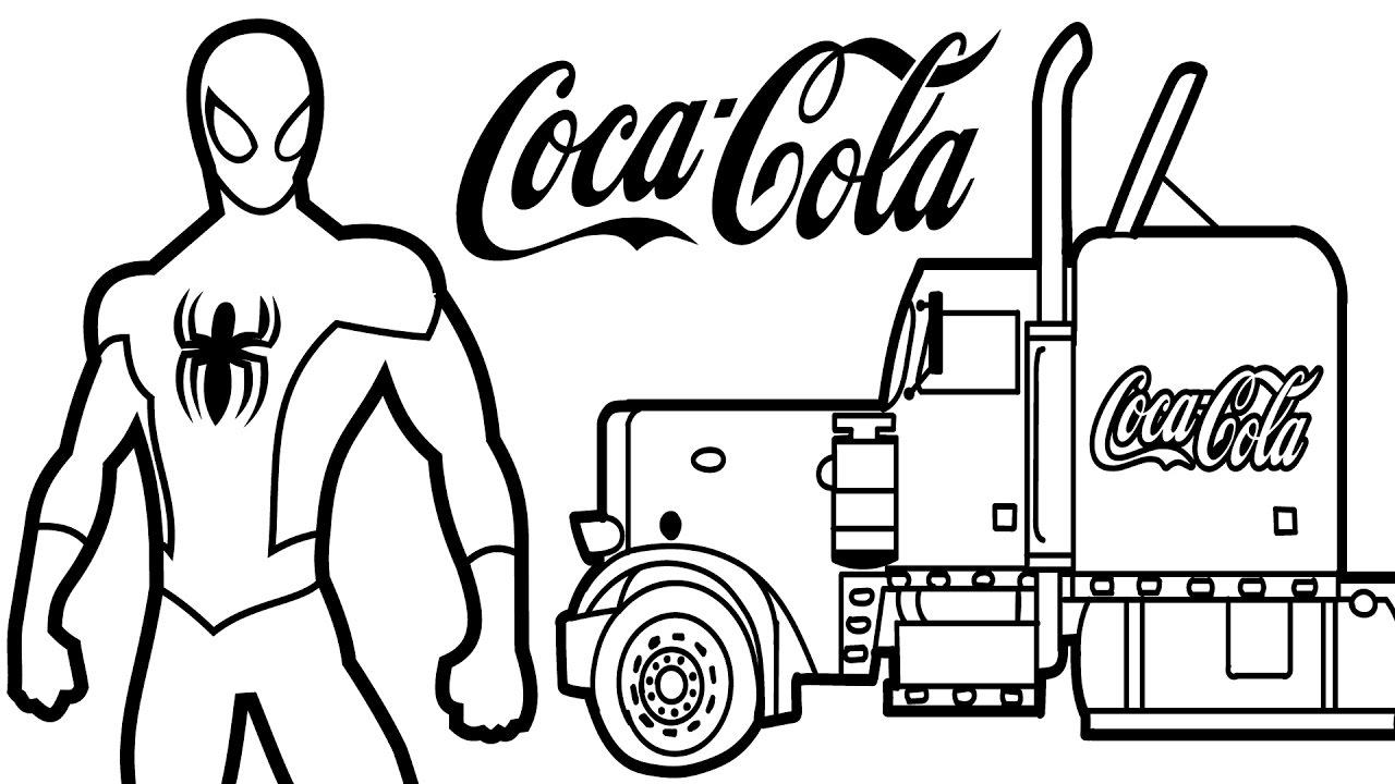Coca Cola coloring #3, Download drawings