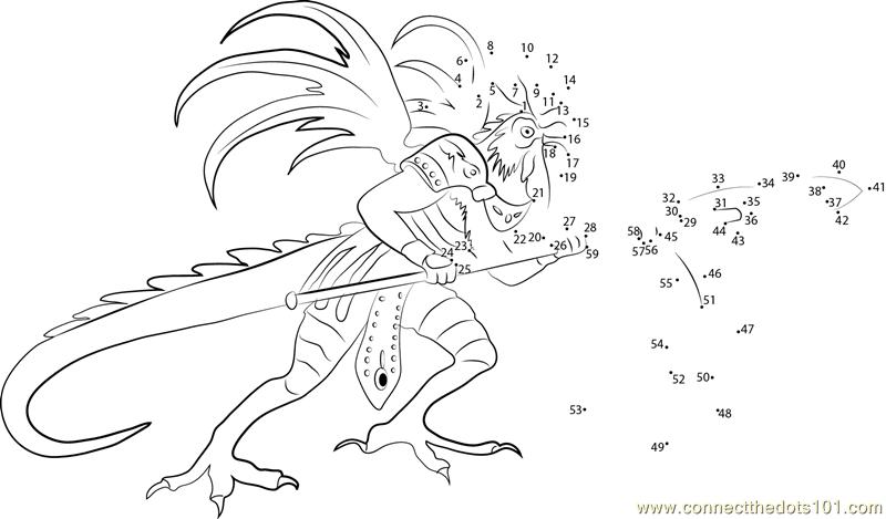 Cockatrice coloring #16, Download drawings