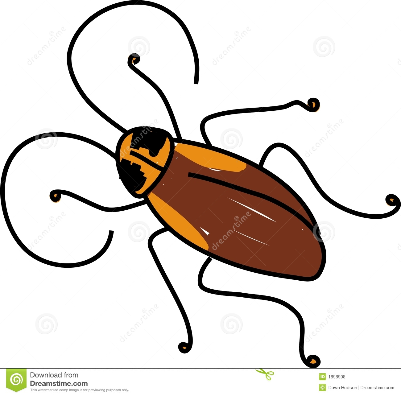 Cockroach clipart #3, Download drawings