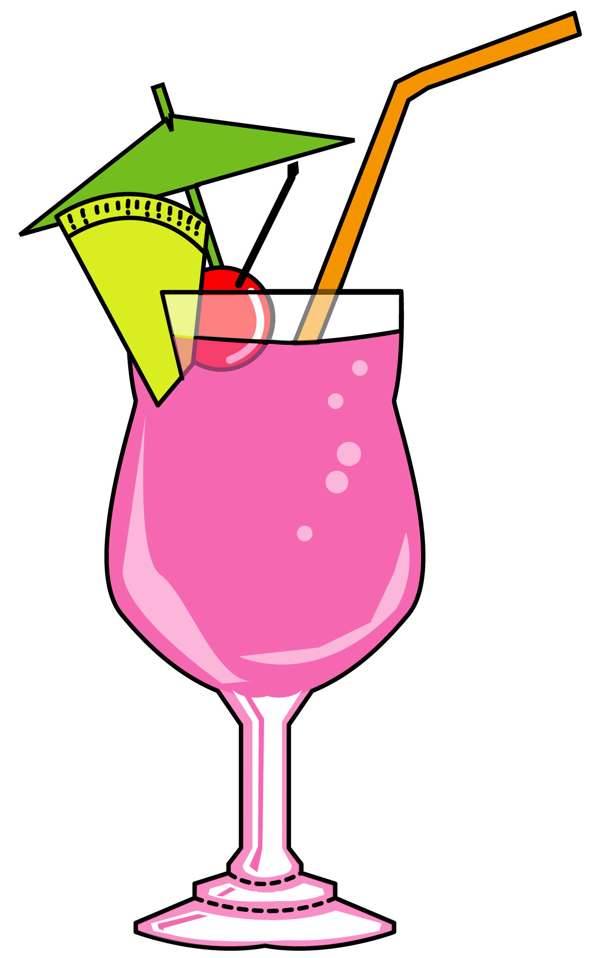 Cocktail clipart #2, Download drawings