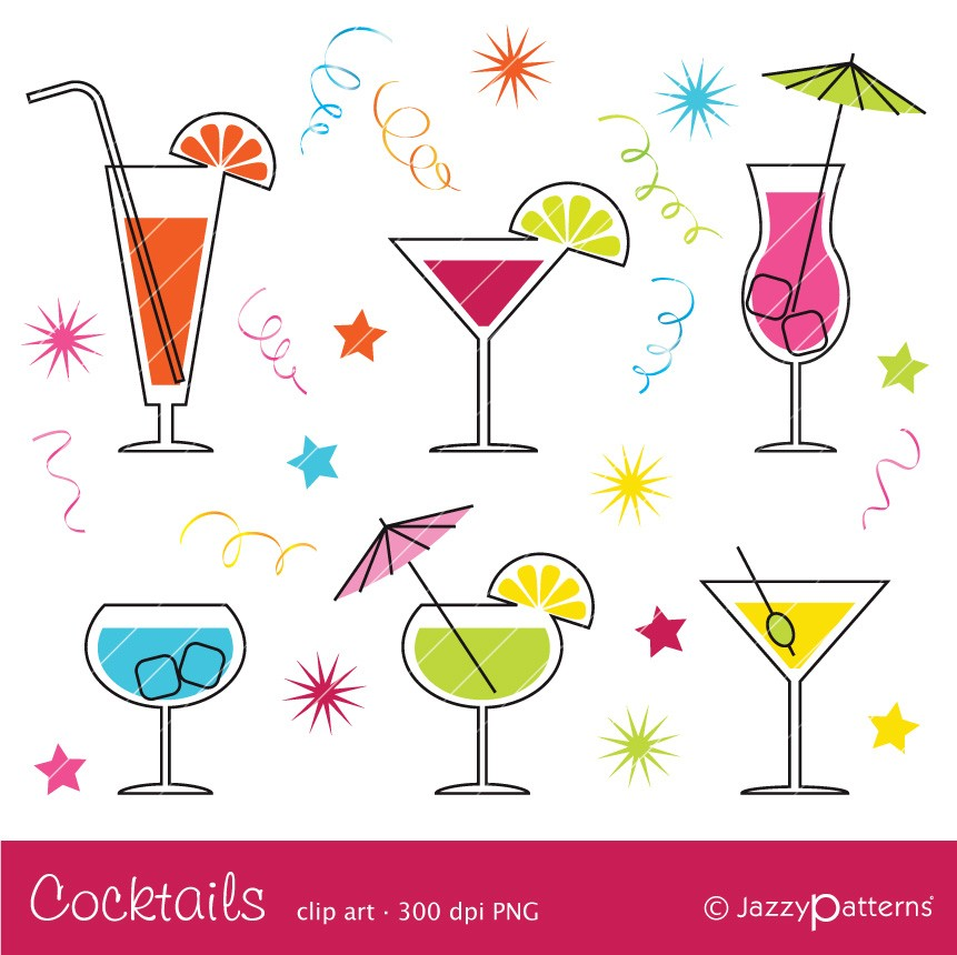 Cocktail clipart #4, Download drawings