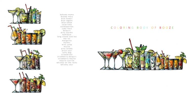 Cocktail coloring #10, Download drawings