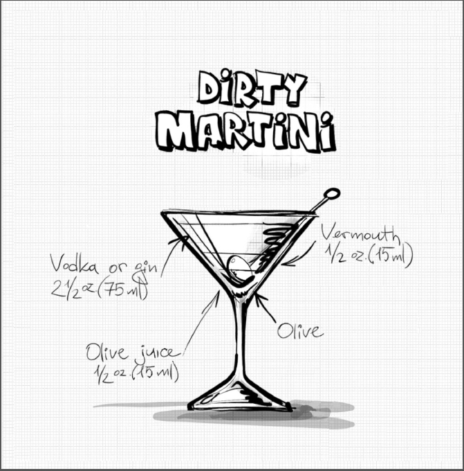 Cocktail coloring #16, Download drawings