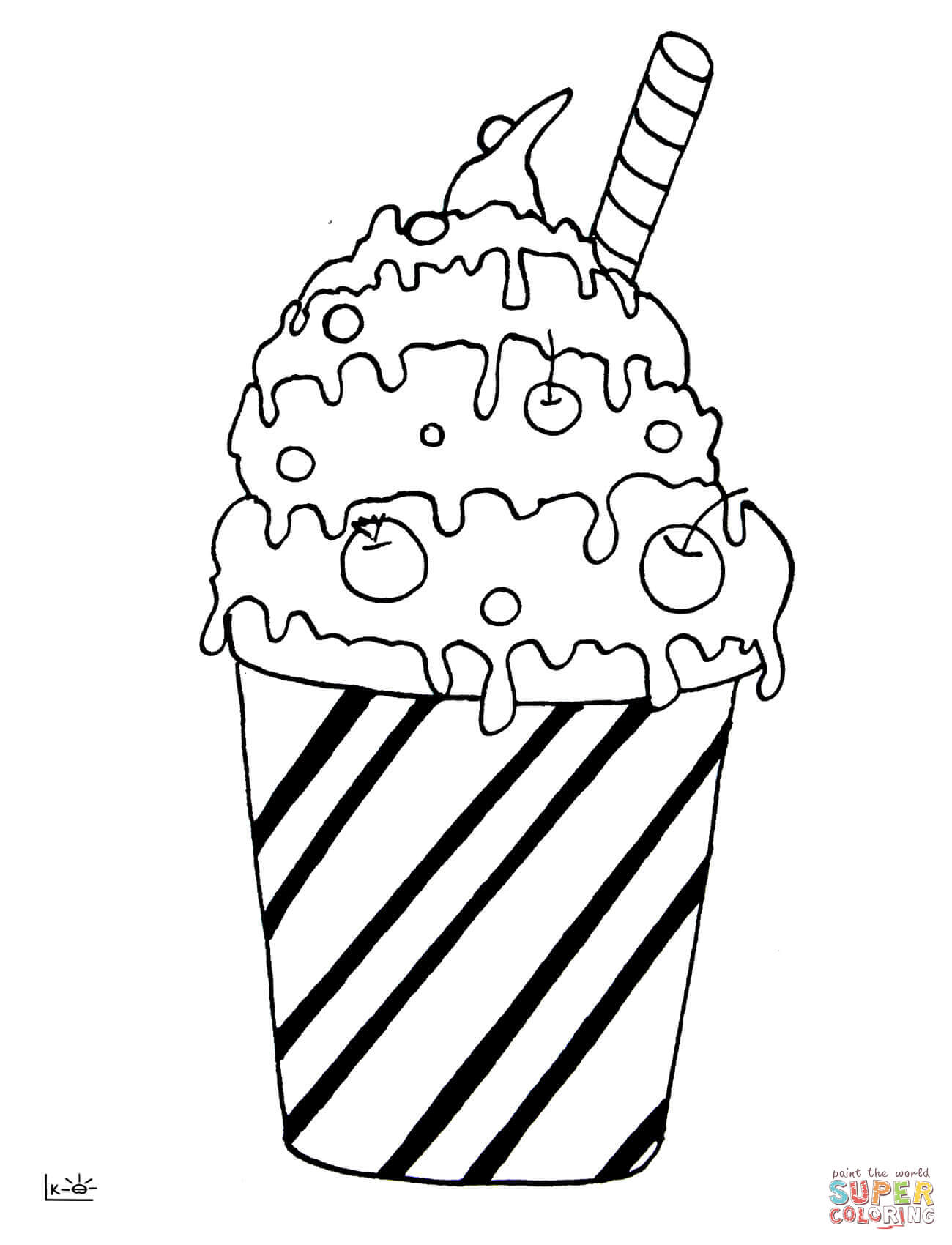 Cocktail coloring #11, Download drawings