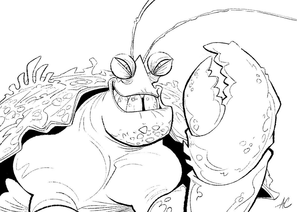 Coconut Crab coloring #5, Download drawings