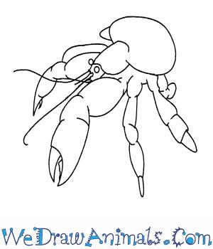 Coconut Crab coloring #1, Download drawings