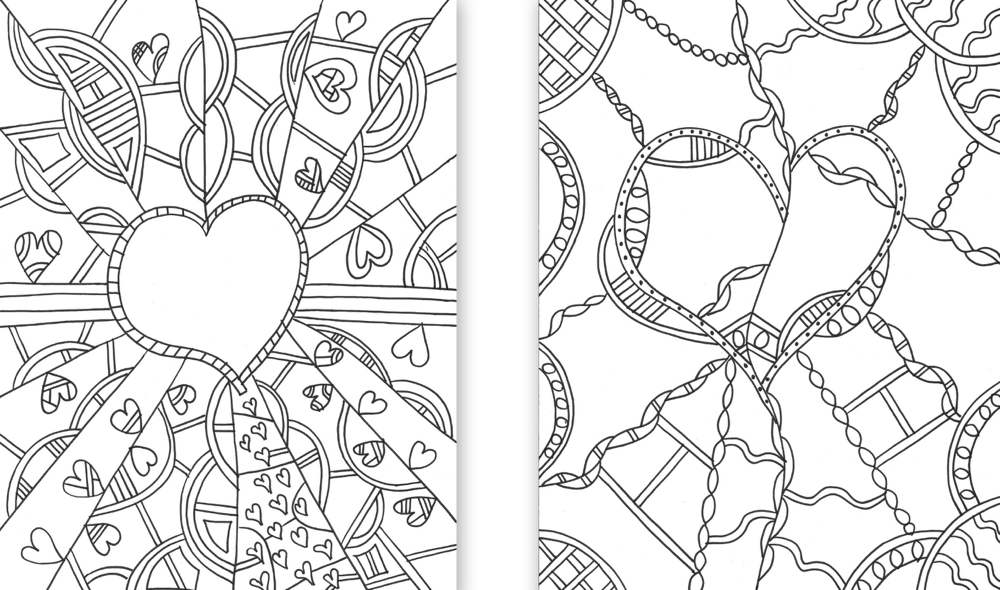 Collage coloring #5, Download drawings