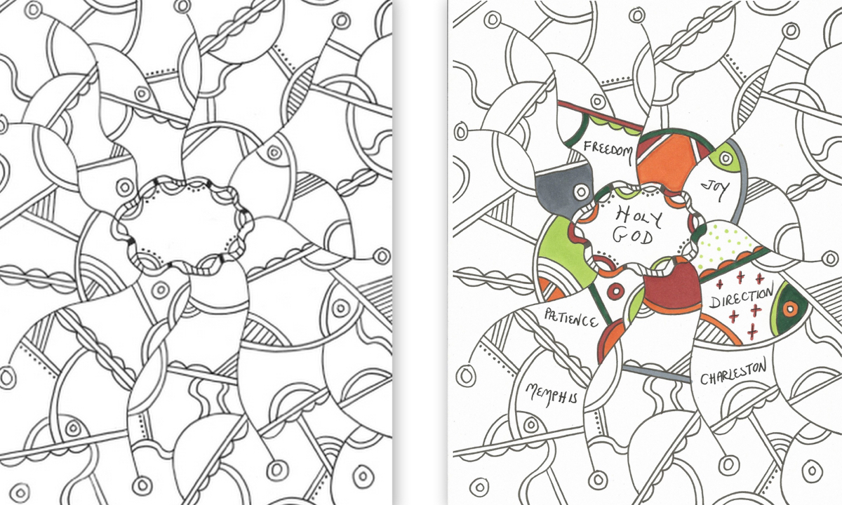 Collage coloring #4, Download drawings