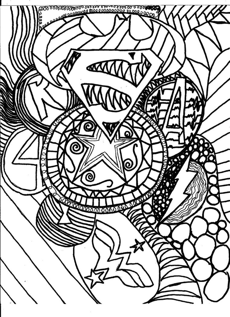 Collage coloring #6, Download drawings