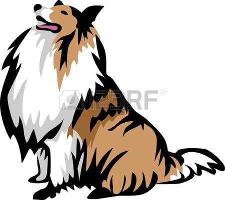 Collie clipart #1, Download drawings