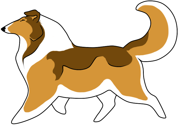 Collie clipart #15, Download drawings