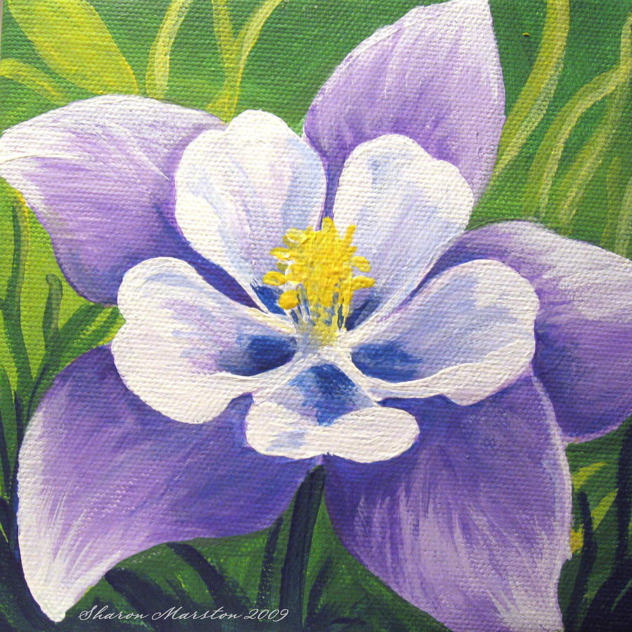 Colorado Blue Columbine clipart #5, Download drawings