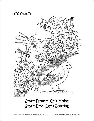 Colorado coloring #14, Download drawings