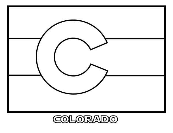 Colorado coloring #2, Download drawings