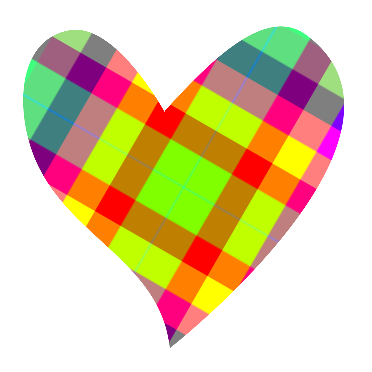 Heart-shaped clipart #6, Download drawings