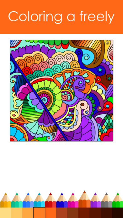 Colorful coloring #7, Download drawings