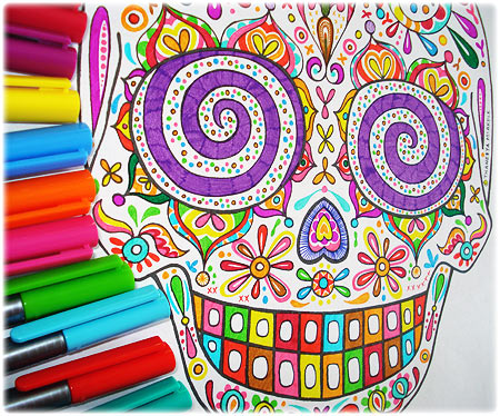 Colorful coloring #17, Download drawings