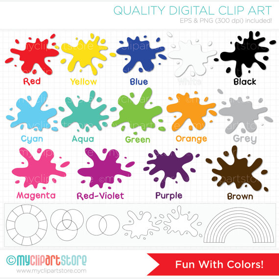 Colors clipart #17, Download drawings