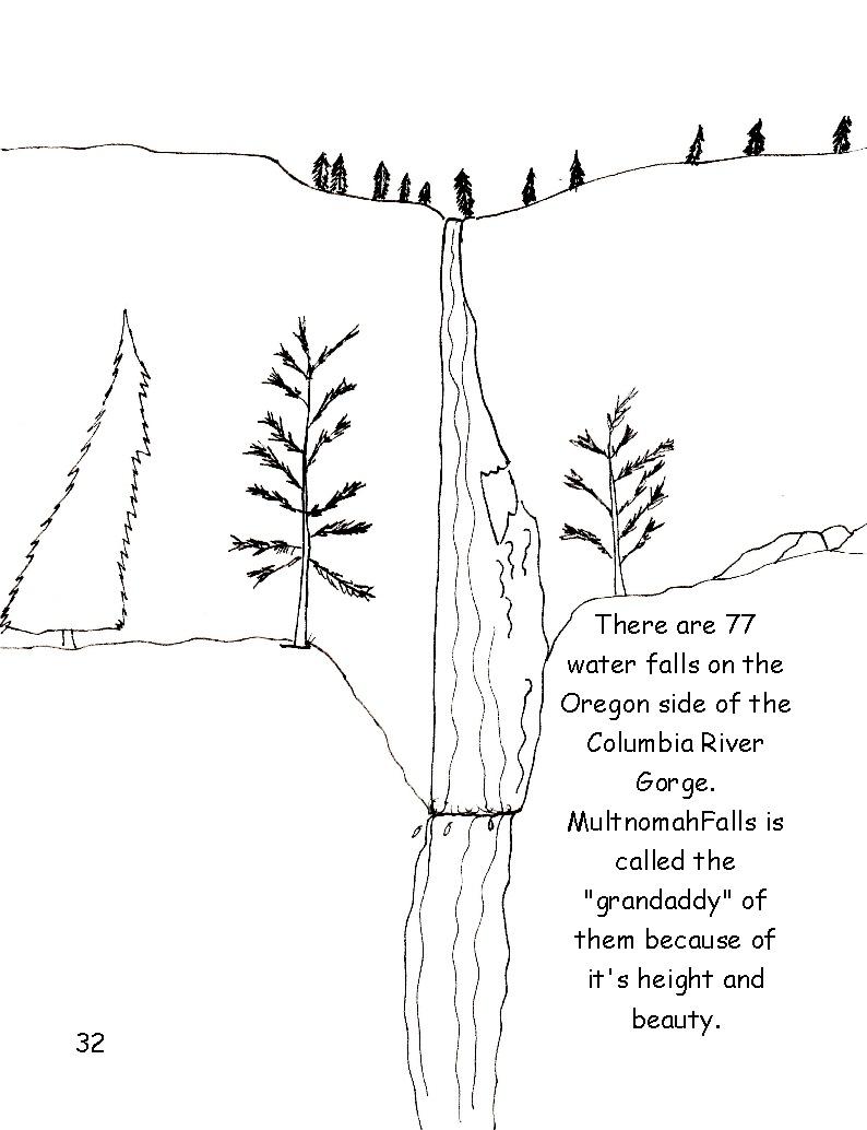 Columbia River coloring #16, Download drawings