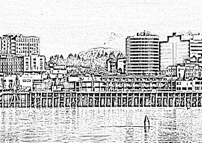 Columbia River coloring #7, Download drawings
