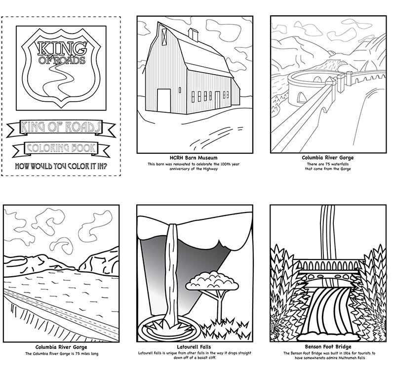 Columbia River coloring #1, Download drawings