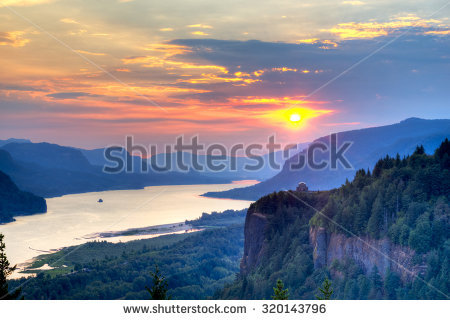 Columbia River Gorge clipart #3, Download drawings