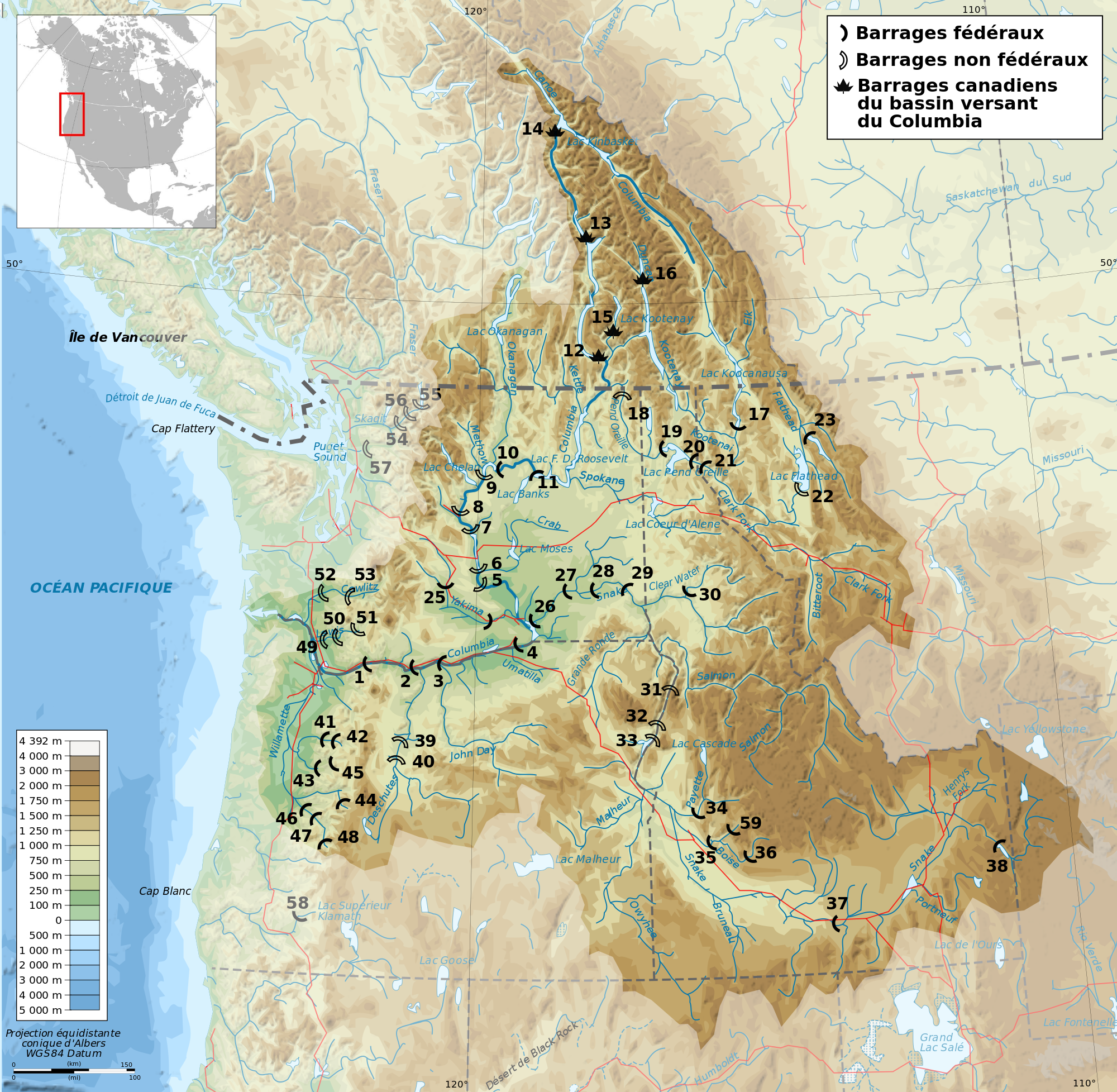 columbia river basin essay The columbia river basalt group: the columbia basin of eastern washington is plastered with deep layers of a fine grained black rock known as basalt.