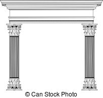 Columns clipart #14, Download drawings