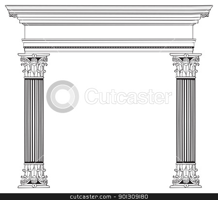 Columns clipart #16, Download drawings