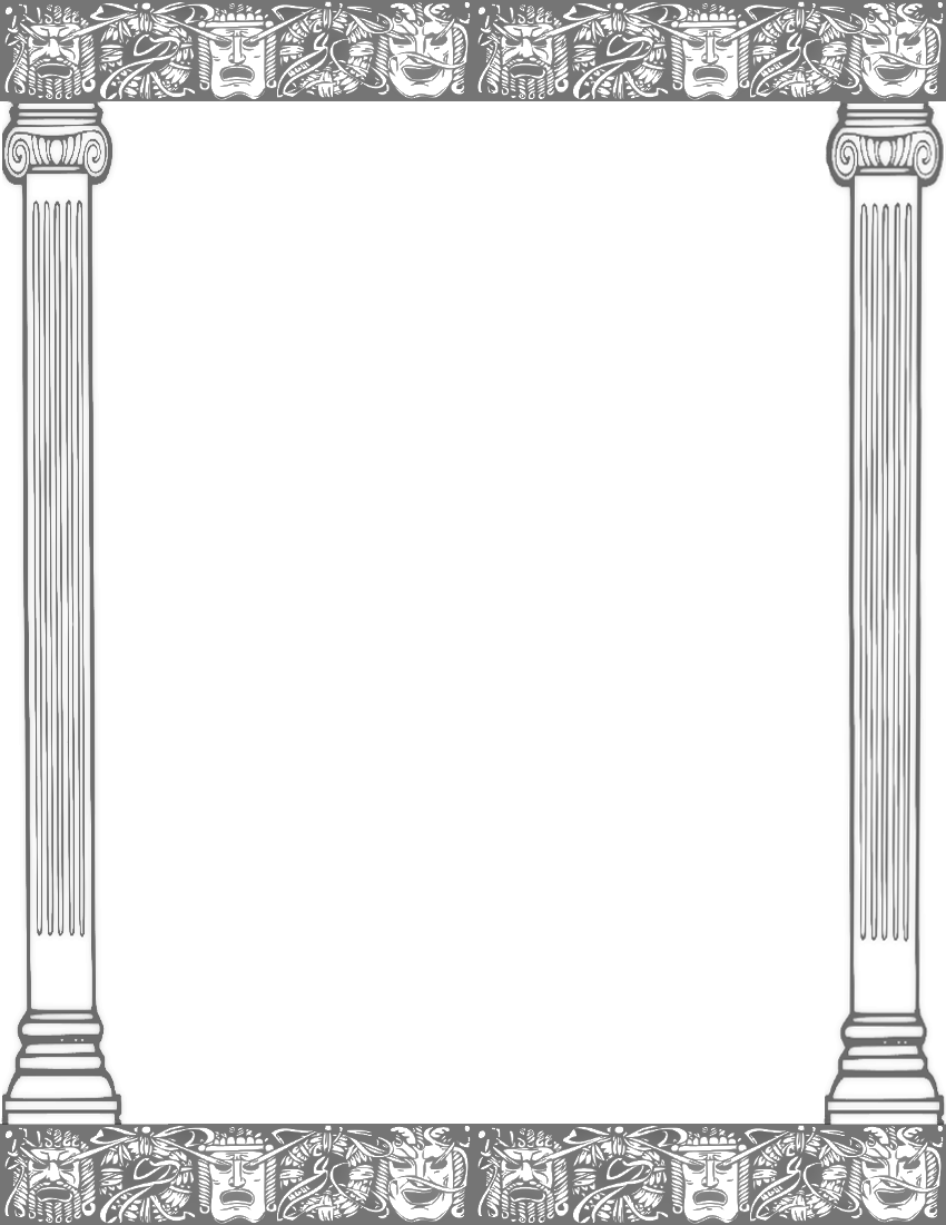 Columns clipart #5, Download drawings