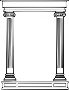 Columns clipart #20, Download drawings